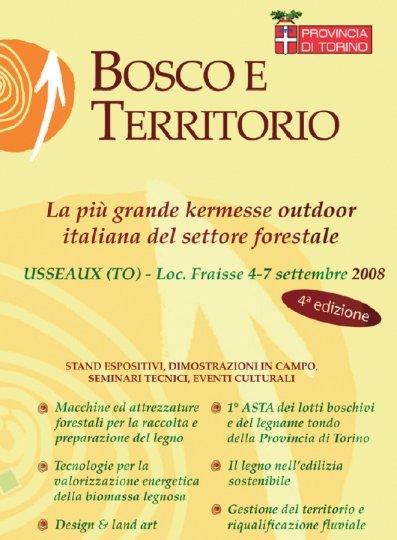 locandina fiera Bosco e Territorio