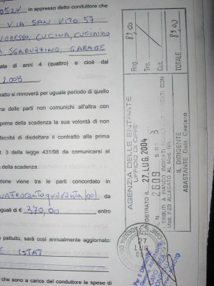 Contratto registrato e proprietario punito i proprietari for Contratto affitto 4 4