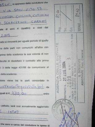 Contratto registrato e proprietario punito casa e condominio for Disdetta contratto comodato d uso gratuito agenzia entrate
