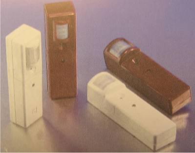 un rivelatore per antifurto, a infrarossi