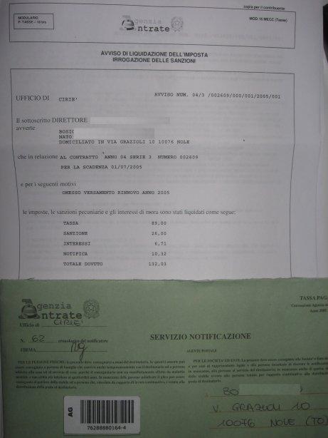 Contratto registrato e proprietario punito i proprietari for Registrazione contratto preliminare di compravendita agenzia delle entrate