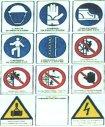 Cartello antinfortunistica sicurezza cantiere
