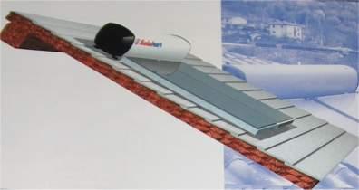 pannelli fototermici solahart su tetto